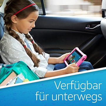 Fire 7 Kids Edition-Tablet, 17,7 cm (7 Zoll) Display, 16 GB, blaue kindgerechte Hülle - 6