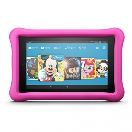 Fire HD 8 Kids Edition-Tablet, 20,3 cm (8 Zoll) HD Display, 32 GB, pinke kindgerechte Hülle - 1