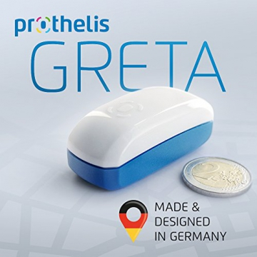 prothelis greta universal gps tracker unser test als peilsender f r kinder handy. Black Bedroom Furniture Sets. Home Design Ideas