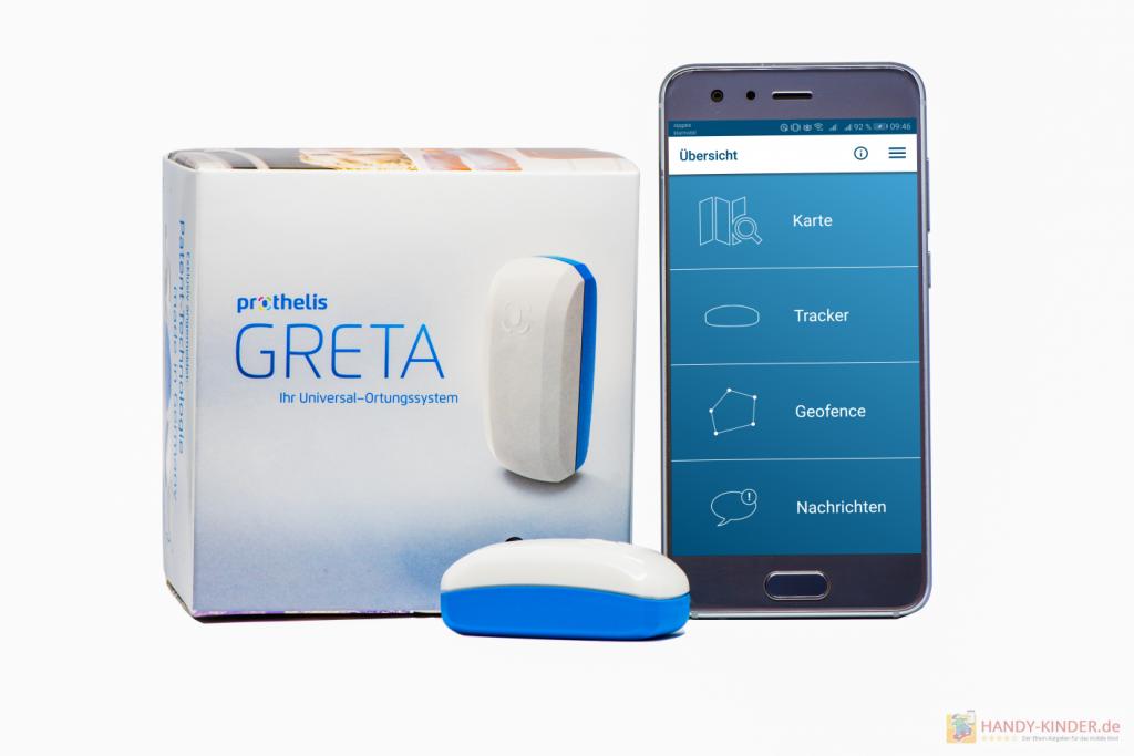 Prothelis GPS Tracker: App für Android und iOS zur Ortung