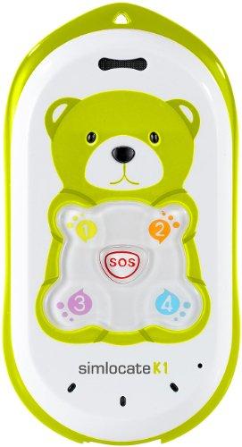 simvalley MOBILE Kinderhandy mit GPS: Kinder-Handy simlocate K1 mit Garantruf & GPS-Ortung (Kinderhandy mit GPS Ortung) - 1
