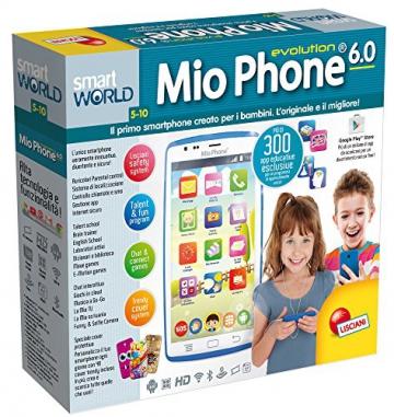 Smartphone für Kinder Lisciani Giochi 55661Mio Phone Evolution HD, 12,7 cm (5 Zoll), Farbe: Blau - 2