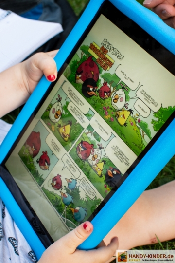 Amazon Kids Tablet - Comics lesen - Test