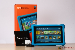 Amazon Fire HD 10 Zoll KidsEdition - Lieferumfang