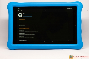 Amazon Fire HD 10 KidsEdition - Einstellungen