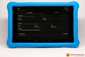 Amazon KidsEdition Tablet - Kinderprofile