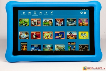 Videos anschauen mit dem Amazon Kindertablet