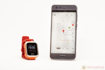 Anio 3 Touch: App Ortung mit GPS