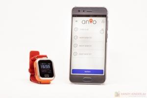 Anio 3 Touch App: Wecker Einstellungen