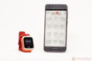 Anio 3 Touch Kidswatch: App für Android und iOS