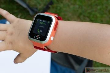 Anio 3 Touch Kindersmartwatch: Telefonieren mit der Kidswatch
