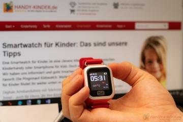 Vergleichstest: Anio 3 Touch Smartwatch für Kinder