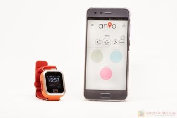 Anio 3 Touch Smartwatch: Schrittzähler