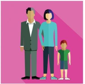 Familie mit 1 Kind