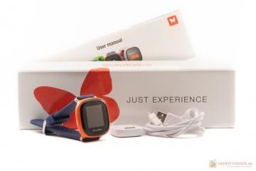 Xplora Smartwatch: Lieferumfang und Bedienungsanleitung