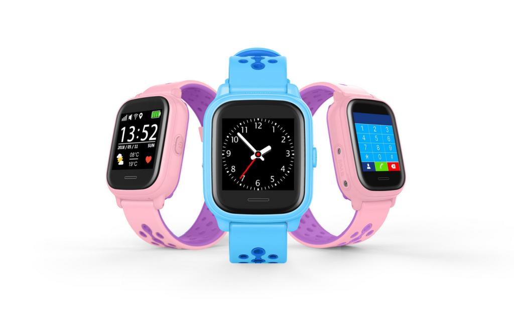 Anio 4 Touch - blau und rosa