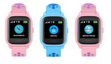 Kindersmartwatch von Anio: Display mit Touch