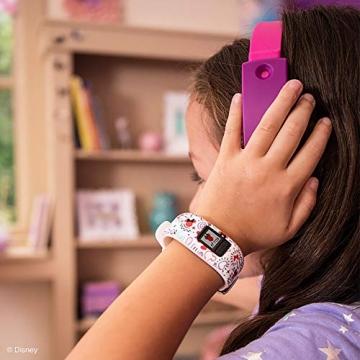 Garmin vívofit jr. 2, wasserdichte Action Watch für Kinder – Disney Minnie Maus mit Abenteuer-App, weiß - 6