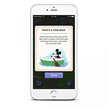 Garmin vívofit jr. 2, wasserdichte Action Watch für Kinder – Disney Minnie Maus mit Abenteuer-App, weiß - 9