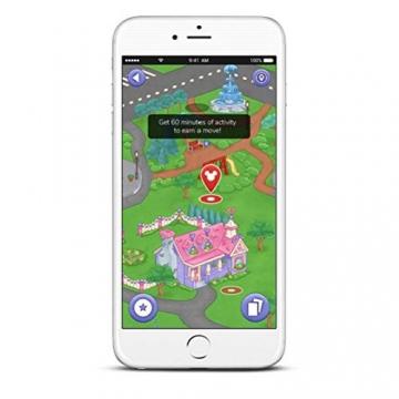 Garmin vívofit jr. 2, wasserdichte Action Watch für Kinder – Disney Minnie Maus mit Abenteuer-App, weiß - 10