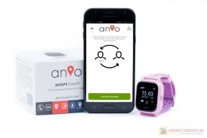 Nachrichten verschicken bei der Anio Kidswatch