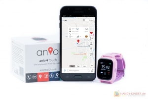 GPS Ortung: Anio 4 Touch