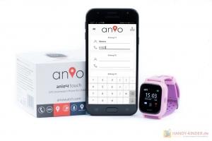 Rufnummern anlegen: Anio 4 Touch