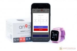 Ruhezeiten einstellen bei der Anio Kidswatch