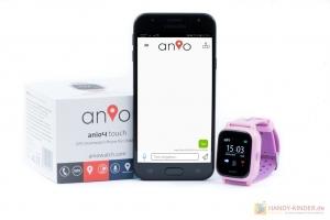 Textnachrichten verschicken: Anio 4 Touch