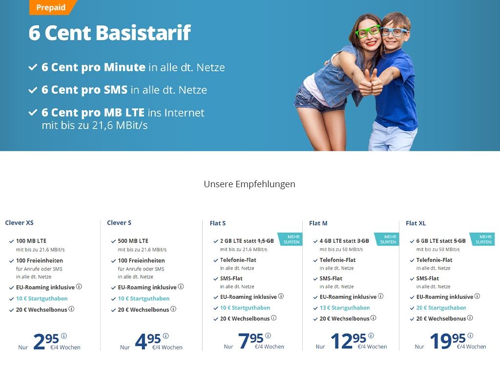 discoTEL: Empfehlung als Handytarif für Kinder und Teens
