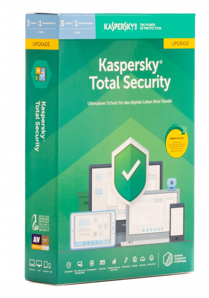 Kaspersky Total Security mit Kindersicherung