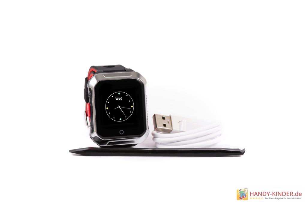 Vidimensio Kleiner Biber Smartwatch - Aufladen mit USB