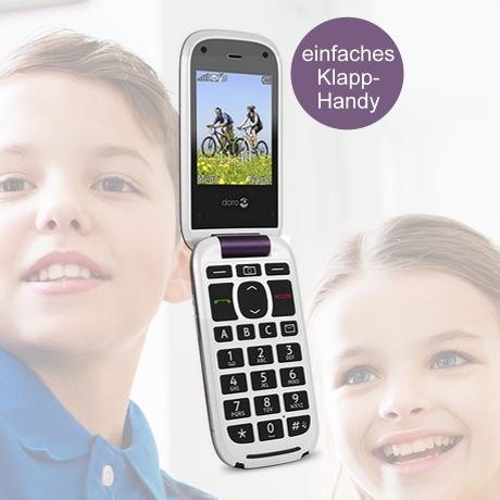Doro Phone Easy - einfaches Klapphandy für Kinder