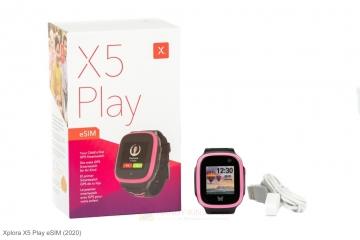Lieferumfang Xplora X5 Smartwatch mit eSIM