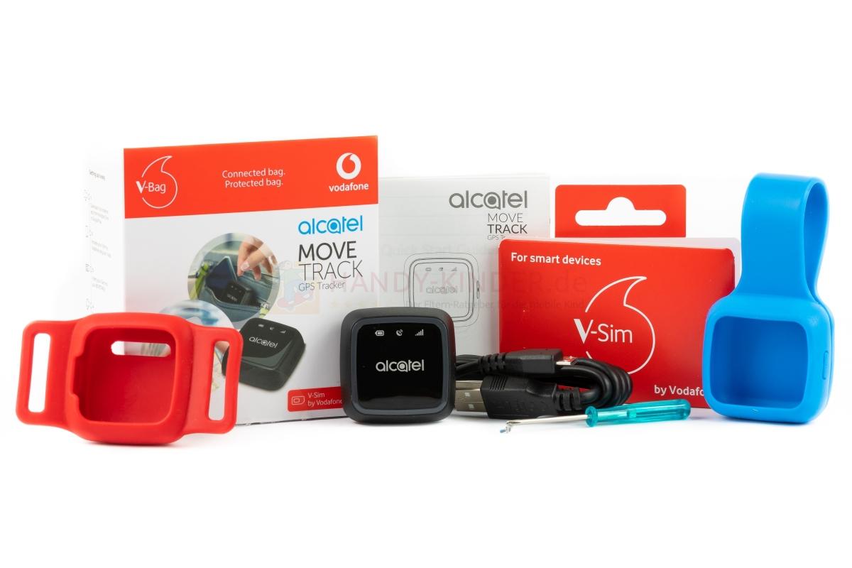 Lieferumfang: GPS Tracker von Vodafone