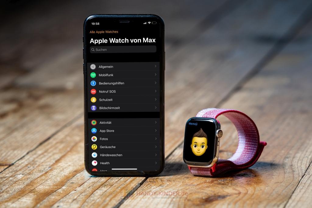 Apple Watch für Kinder einrichten