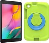 Samsung Galaxy Tab A 8.0 Wi-Fi (2019) + Kids Cover Grün (20,31 cm (8 Zoll), 32 GB interner Speicher, 2 GB RAM, Android 9 mit Kids Home-Bereich) Schwarz - 1