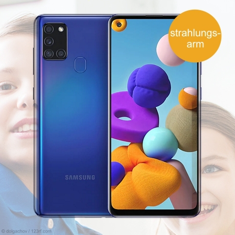 Samsung A21s - strahlungsarmes Smartphone