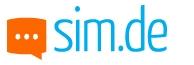 SIM.de Handyvertrag Logo