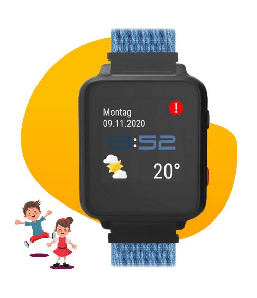 Anio 5 Touch Kindersmartwatch