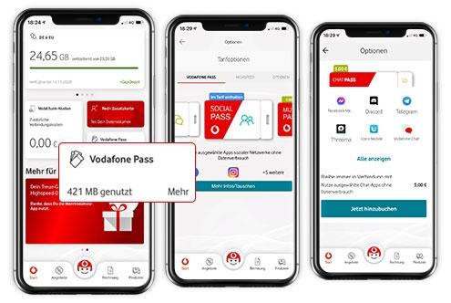 Musik streamen ohne Datenverbrauch: Vodafone GigaPass Music