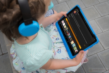 Amazon Fire HD Kids 10 mit Kinderkopfhörer im Test