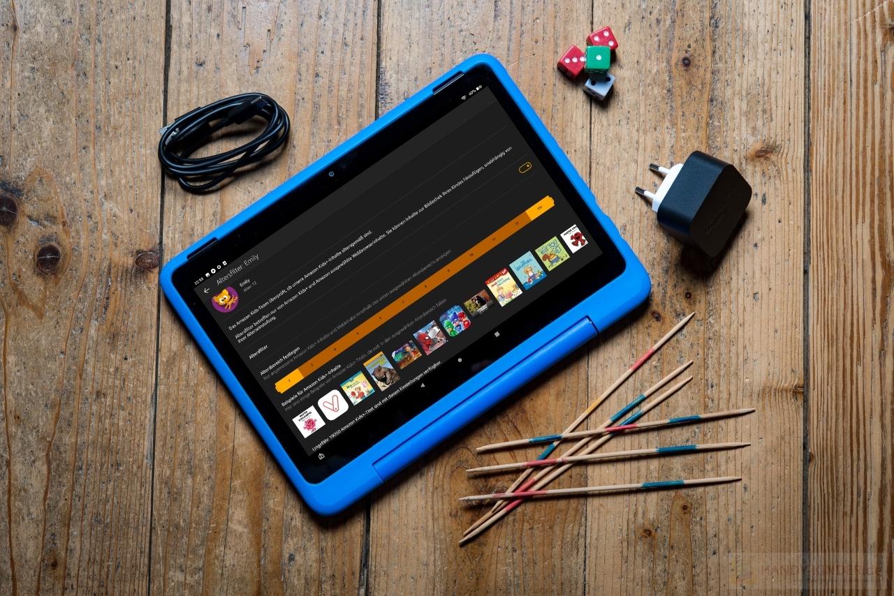 Amazon Fire HD 10 Kids Edition: Inhalte nach Alter auswählen