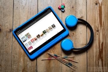 Amazon Fire HD Kids 10 mit Kinderkopfhörer