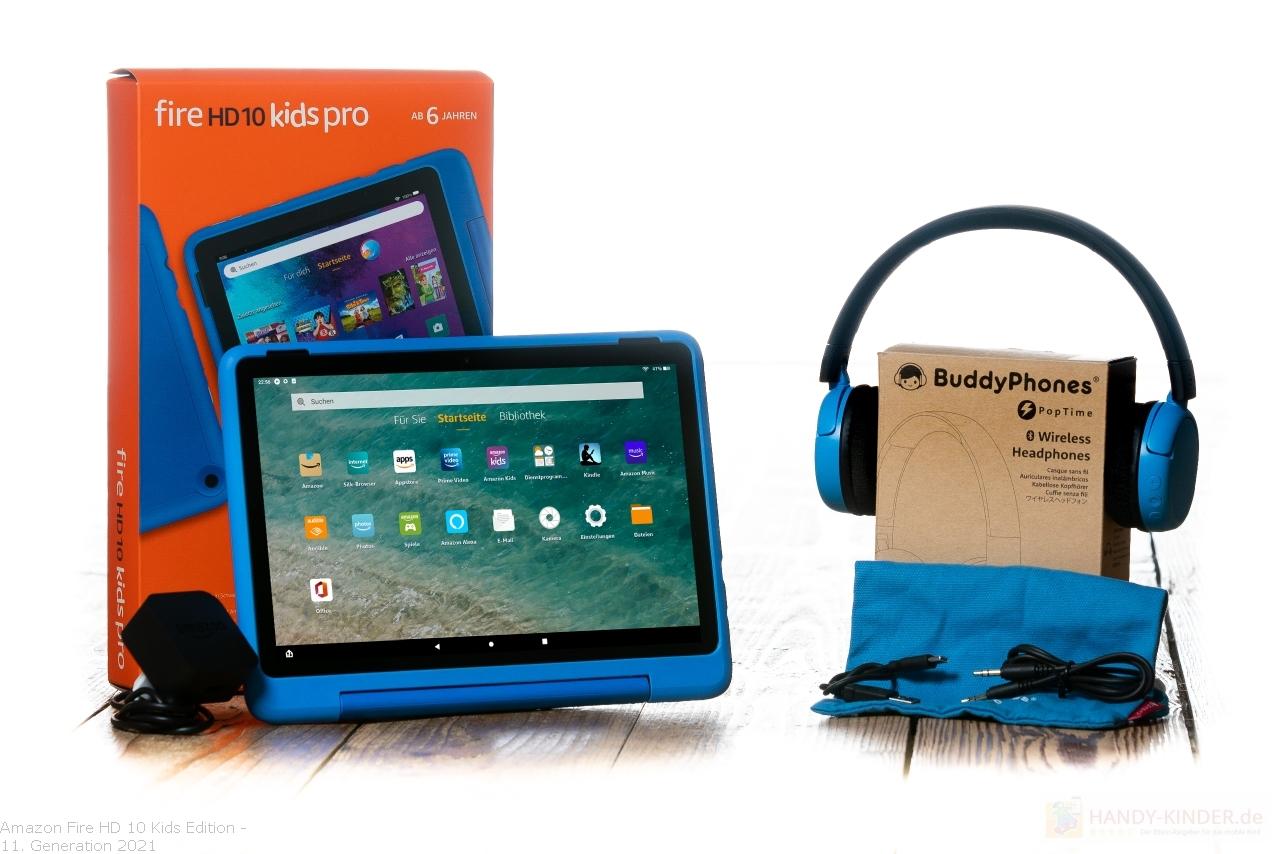Amazon Fire HD Kids 10 mit Kopfhörer im Bundle