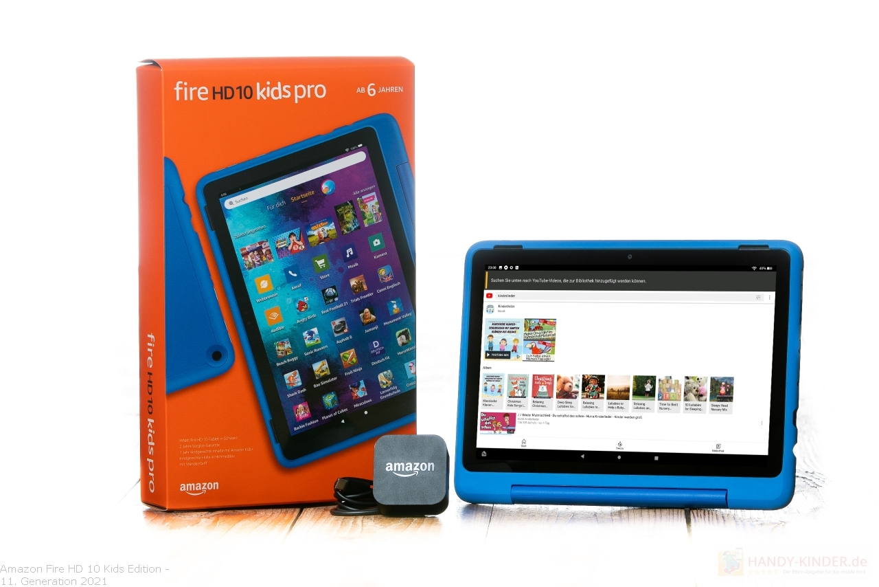 Amazon Fire HD Kids: YouTube Videos hinzufügen