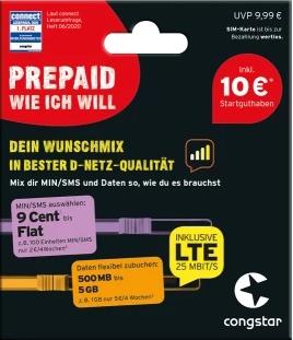 congstar Prepaid wie ich will - SIM-Karte