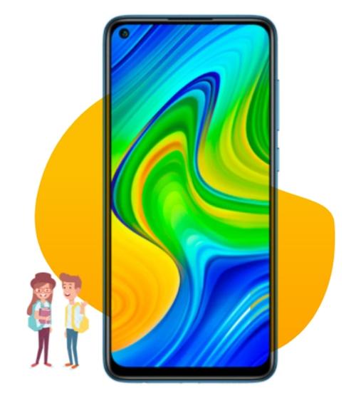 Xiaomi Redmi Note 9: Smartphone für die Schule