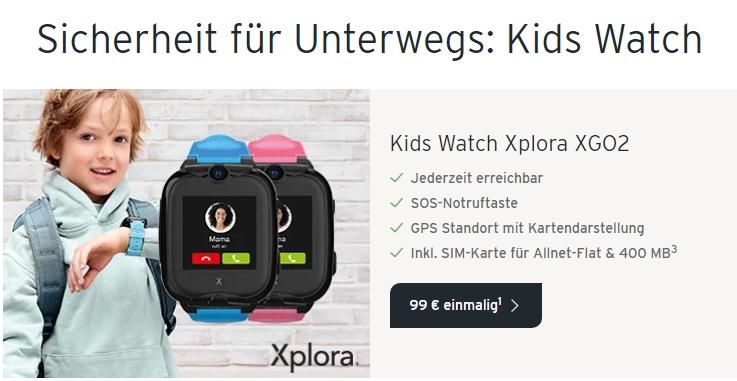 Xplora Go2 für Schulkinder im Angebot